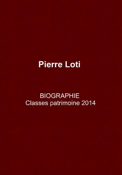 Biographie Pierre Loti
